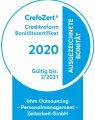 Zeitarbeit Personaldienstleister Outsourcing Zertifikat Crefo